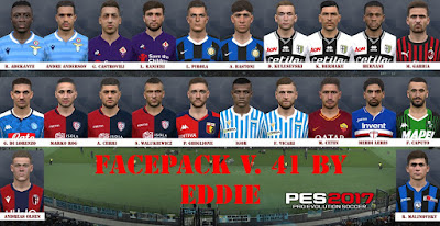 PES 2017 Facepack vol 41 by Eddie Facemaker