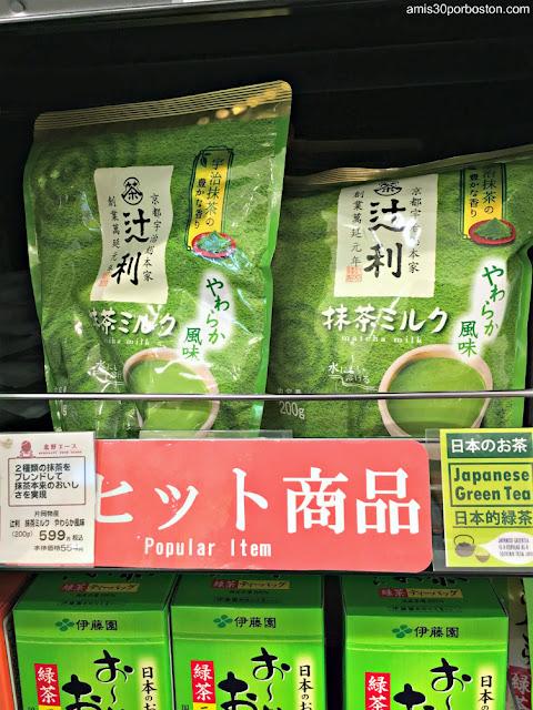Matcha en un Supermercado de Tokio
