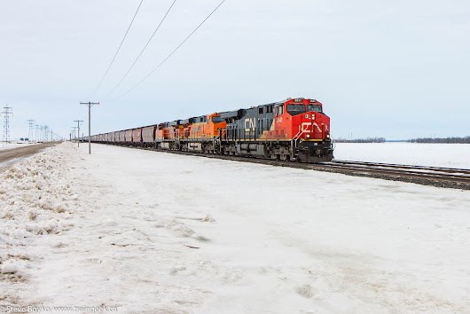 BNSF Detours, Day and Night
