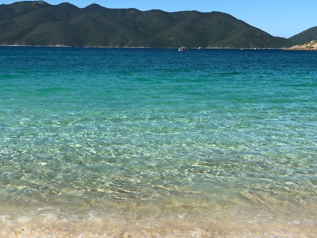 Conhecer a Praia do Forno pela trilha ou táxi boat? Não importa como chegar, importante é curtir esse lugar maravilhoso