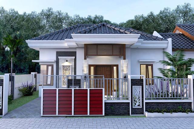 Desain Dan Denah Rumah Type 54 Dengan 3 Kamar Tidur Cocok ...