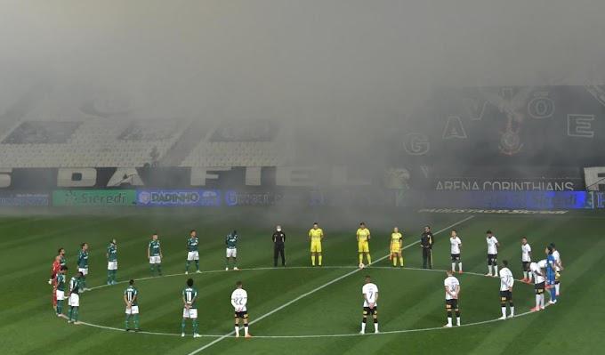 Corinthians y Palmeiras Empataron En La Primera Final Del Campeonato Paulista.