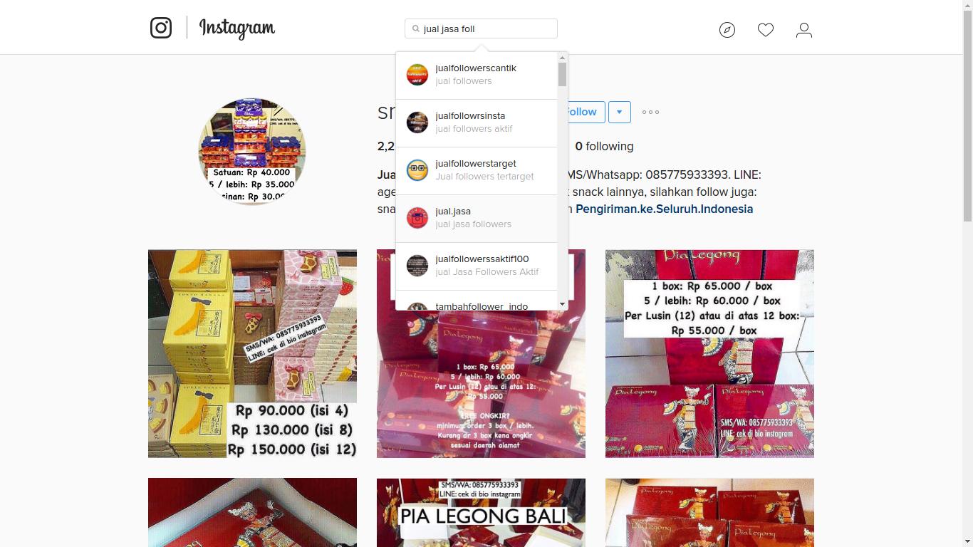 Cara Mudah Kenali Akun Penipu Di Ig Instagram Berguna Juga Di