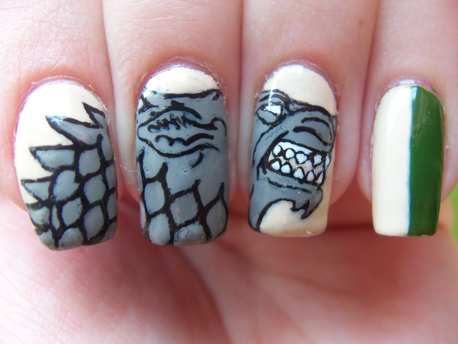 http://megsmanicures.blogspot.com/2014/04/game-of-thrones-house-stark.html
