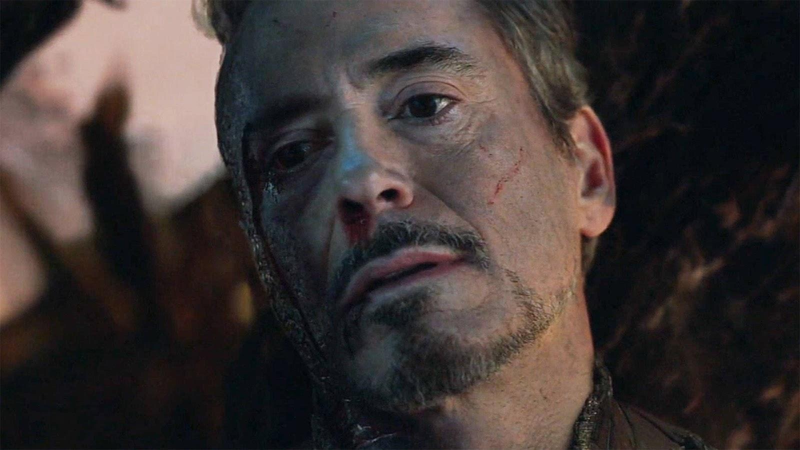 iron man last scene