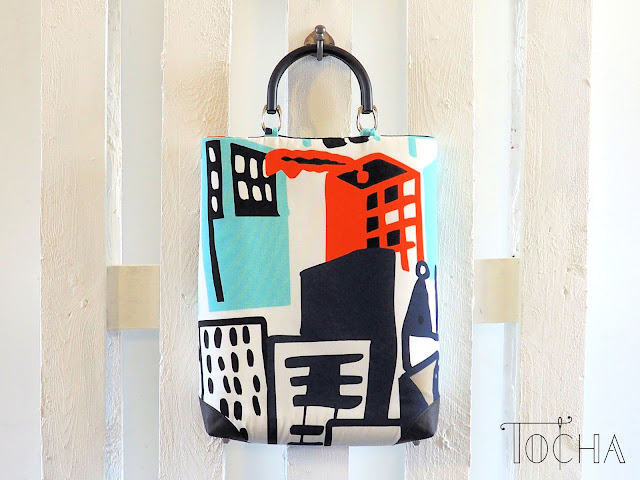 architecture, Better Cotton Initiative, city, cotton, ethical fashion, Gitte, handbag, Ikea, renewable, top handle bag, vegan leather, washable paper, washpapa,