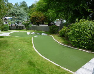 Crazy Golf at Trenance Gardens in Newquay