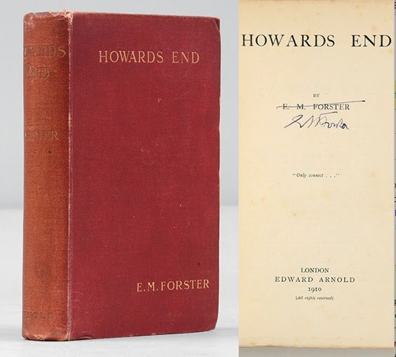 The capitalist in howards end a novel by em forster