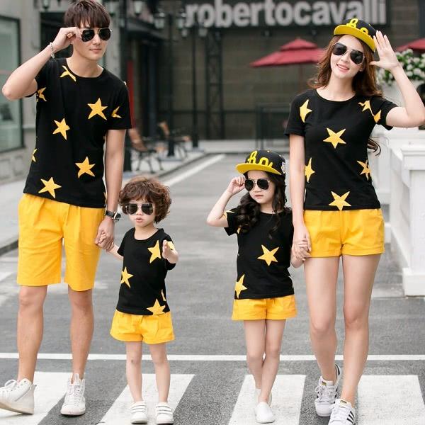 Áo đồng phục gia đình mẫu 7