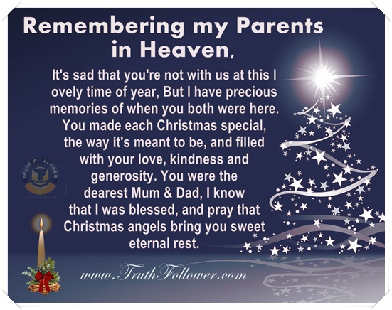 Merry Christmas Heaven Quotes