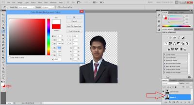Mengubah Background untuk Pas Foto dengan Photoshop