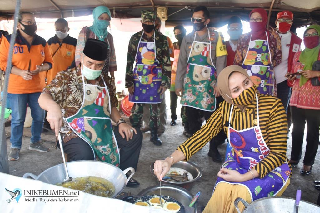 Sudah Salurkan 48 Ribu Nasi Bungkus, Dapur Umum Covid-19 di Kebumen Resmi Ditutup