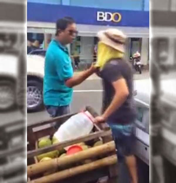 Captured on Video: Buko Vendor vs Car Owner 'Fight'