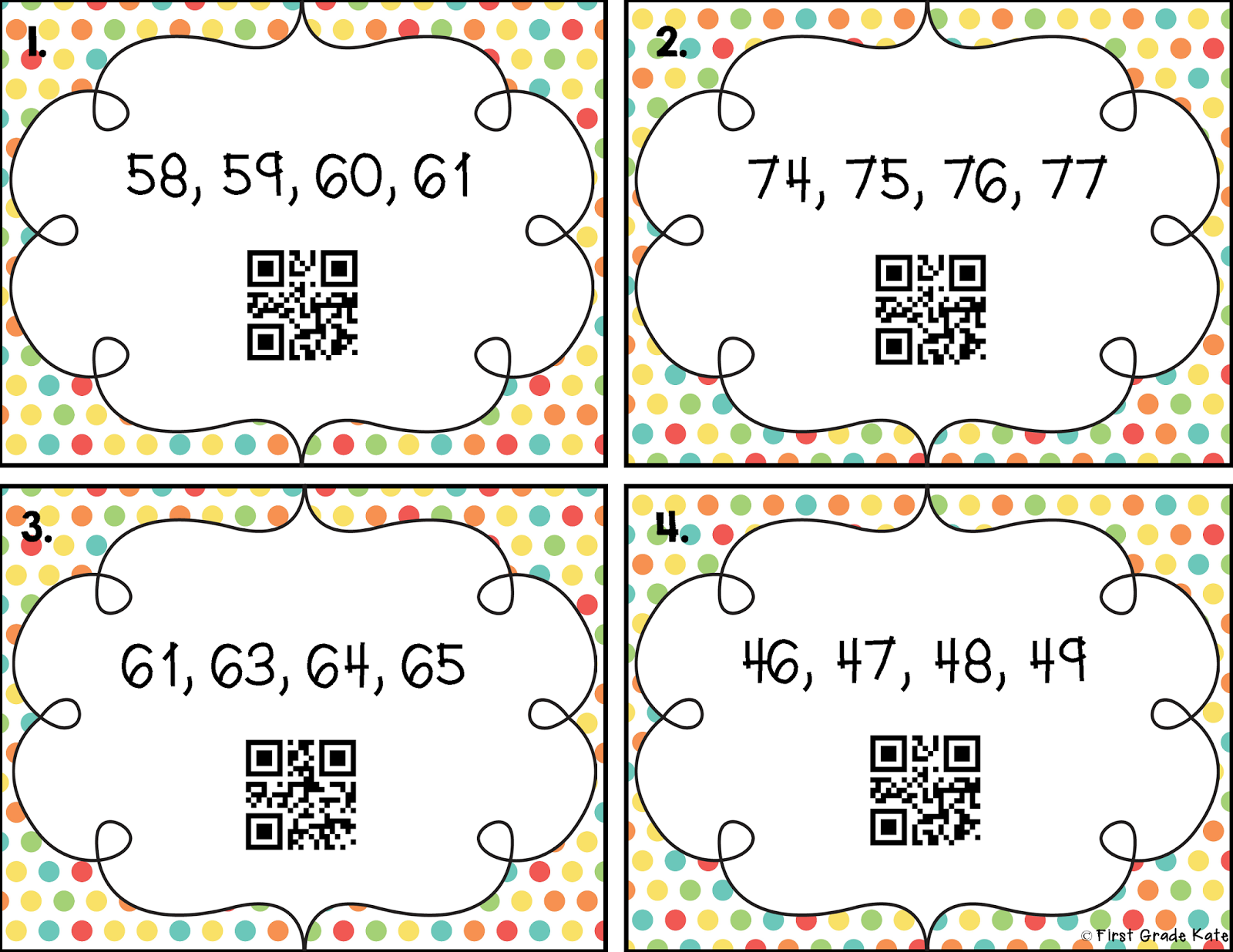 First Grade Kate My Latest Experiment Eating Qr Codes
