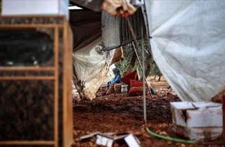 Banjir di Kamp-kamp Pengungsi Suriah, 3 Tewas 2 Hilang