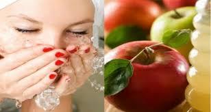 غسل وجهك بخل التفاح يومياً!