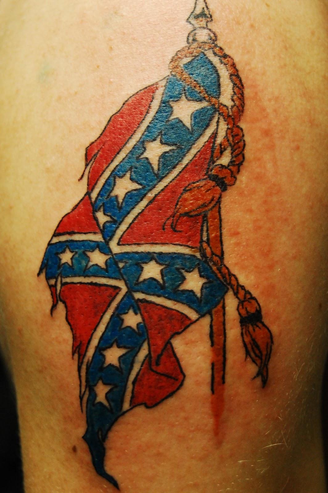 My Tattoo Designs: Confederate Flag Tattoos