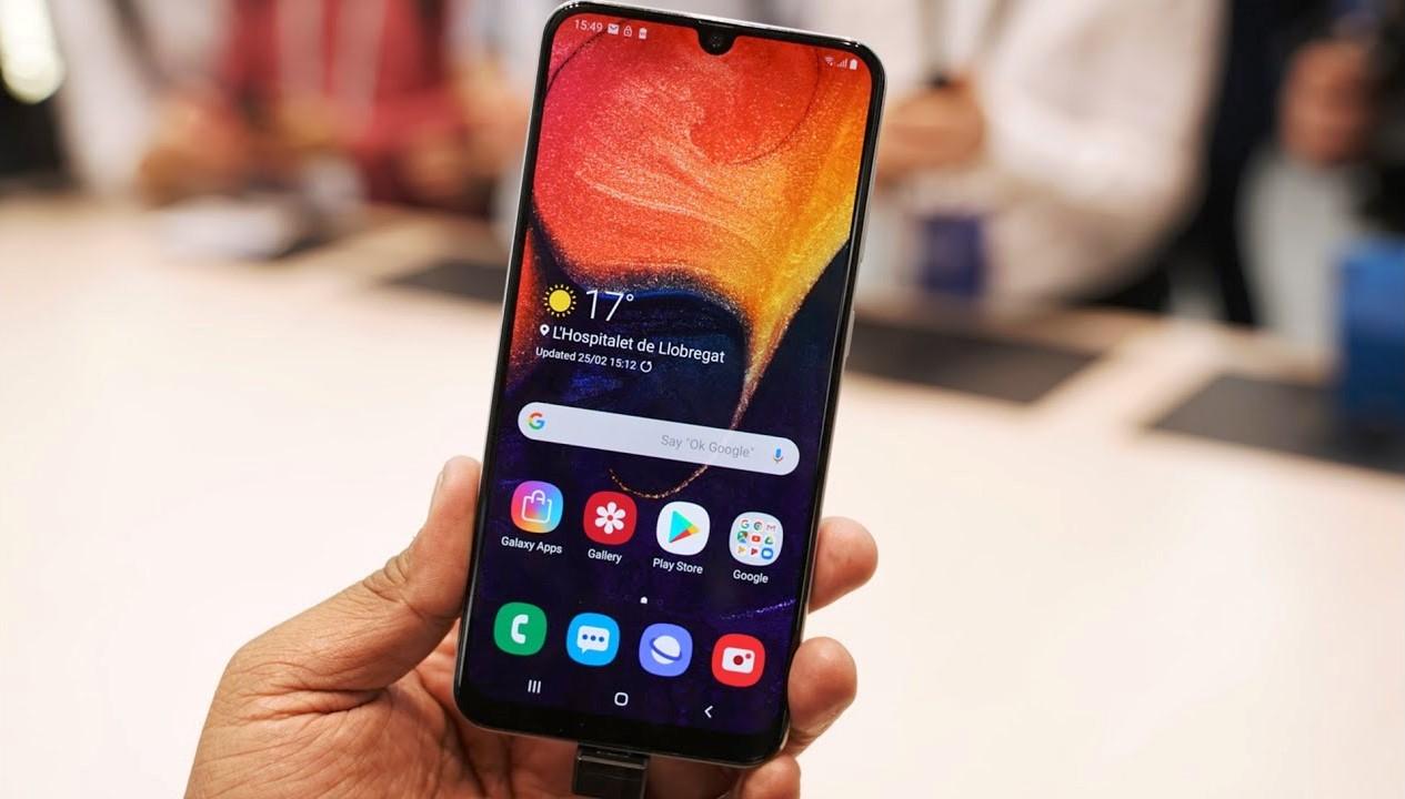 Galaxy A50 Screenshot