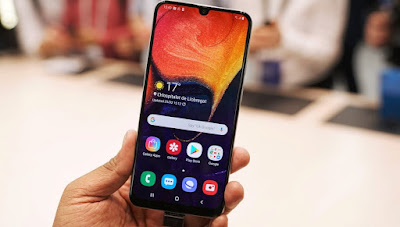 Cara Screenshot Samsung Galaxy A50