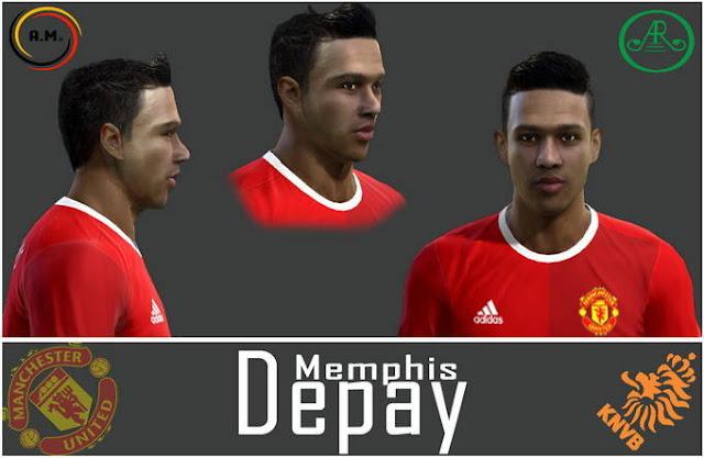 PES 2013 Memphis Depay New Face