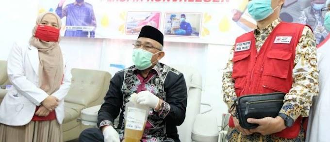 Depok Kota Pertama di Jabar Donorkan Plasma Konvalesen