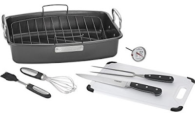 Cuisinart Nonstick Roasting Set $60 (reg $150) - perfect for Thanksgiving!