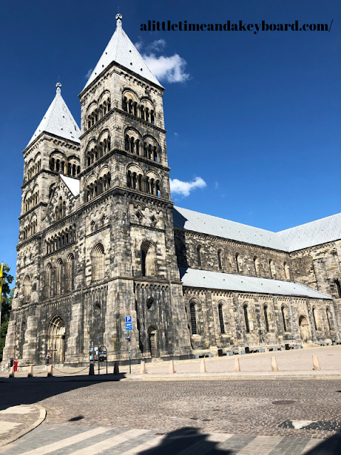 Romanesque Lund Cathedral sits prominently. You can't help but admire it beauty.