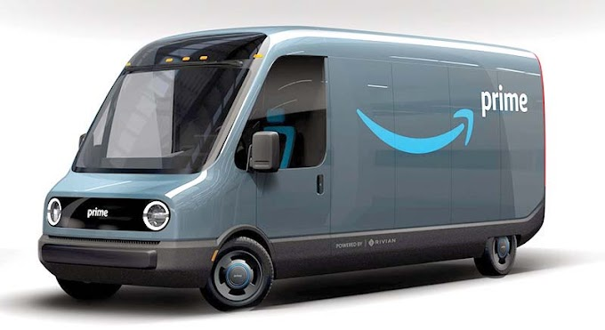 Amazon Debuts Electric Delivery Vans Created and Designed with Rivian