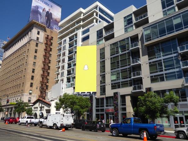 Snapchat billboard