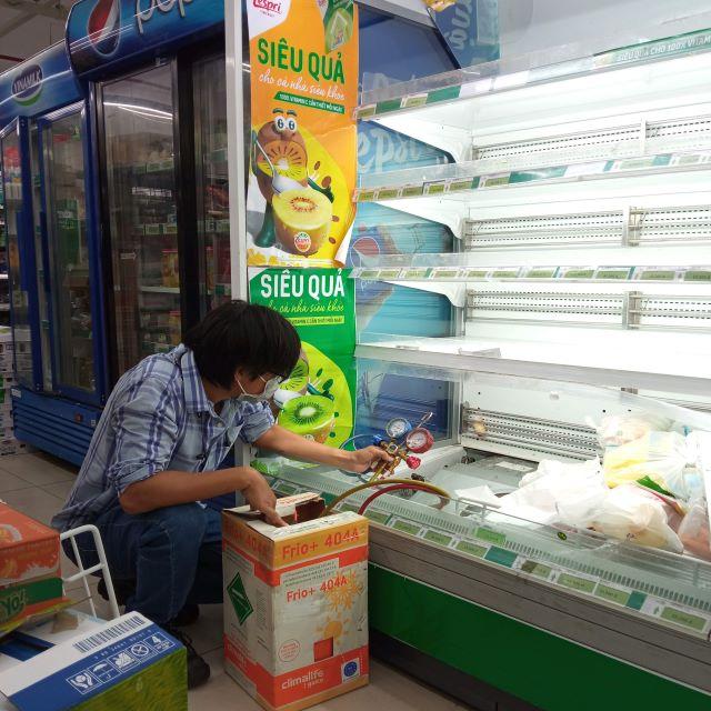 Sửa chữa tủ trưng bày siêu thị
