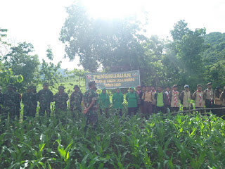 Kodim Dompu Rehabilitasi Hutan dan Lahan
