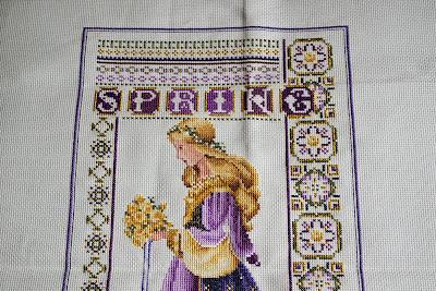 Celtic Spring punto de cruz