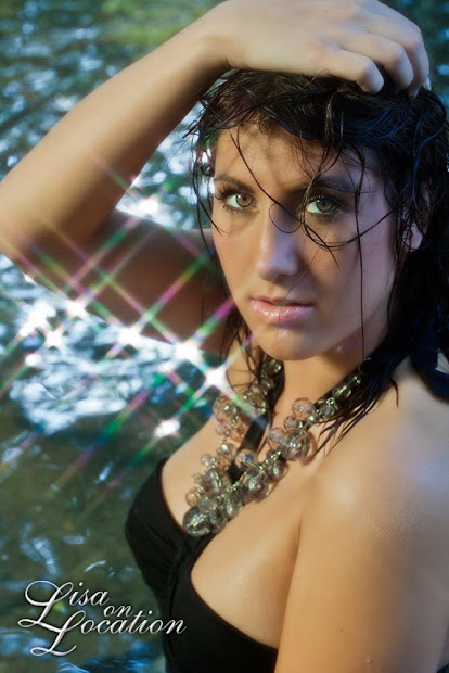 New Braunfels glamour photography in the San Marcos River