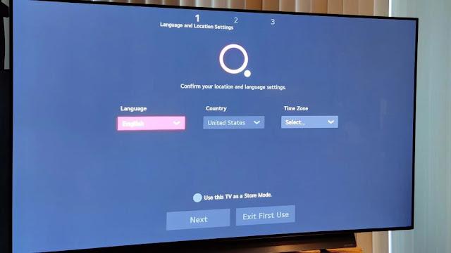 cara mengatur smart tv lg