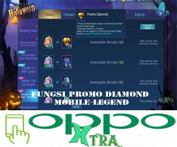 Fungsi Promo Diamond Mobile Legend