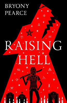 Raising Hell by Bryony Pearce book cover