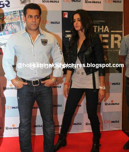 Salman Khan And Katrina Kaif At Ahmedabad For Divya -4991