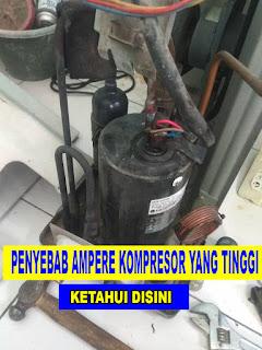 penyebab kompresor ac panas