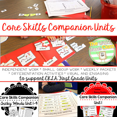 Companion units to CKLA Skills Units for 1st grade
