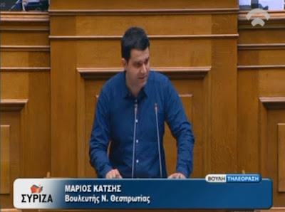 Ερώτηση Μ. Κάτση για τη διαρκή παραβίαση της εργατικής νομοθεσίας από τη Διοίκηση της Τράπεζας Πειραιώς