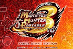 Save Game 100% Monster Hunter Portable 3rd PSP