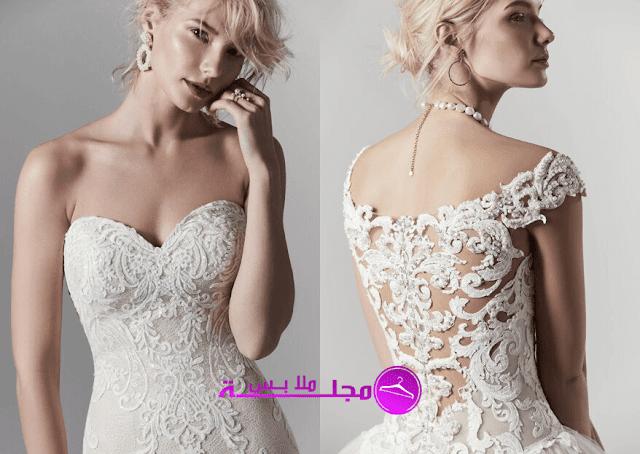 10 فساتين زفاف فريدة من نوعها