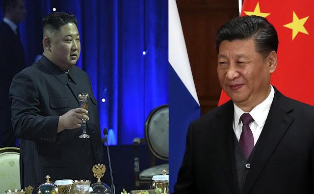 Kim Jong-un, Xi