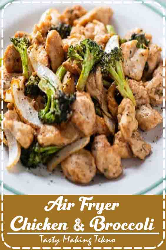 The chicken and broccoli will cook down and shrink, so if it the basket feels full at first, there will be less volume after everything is cooked. Check out the step by step photos on the website recipe write up.