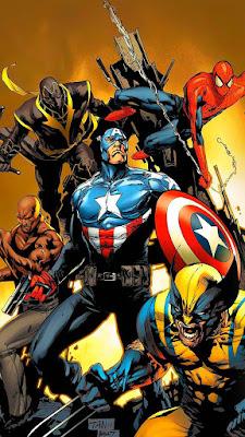 Comic, Superhero Comic, New Avengers