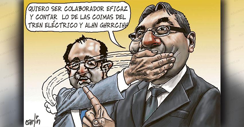 Carlincaturas Lunes 8 Octubre 2018 - La República