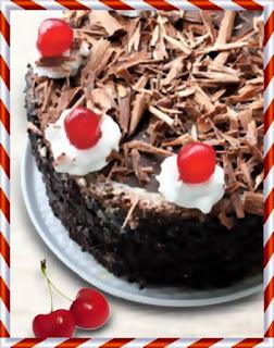 mod preparare simpla tort cu cirese padurea neagra