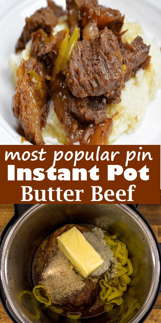 Instant Pot Butter Beef #InstantPot #Butter #Beef