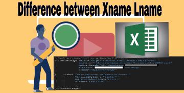 Difference Between Xname Lname and Lname Xname