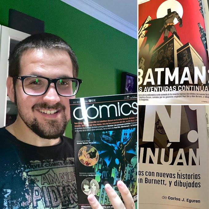 Nueva publicación: ECC Cómics 29 (Batman: Las aventuras continúan)